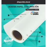 Bobina Rollo Papel Sublimación Global Gama 61cm X 100mts