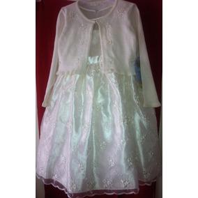 Vestido Infantil Set De 2 Piezas Talla 6 American Princess