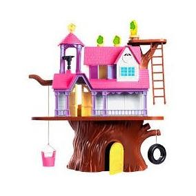 Casa Na Árvore Casinha Com Bonecos Frete Gratis S/juros