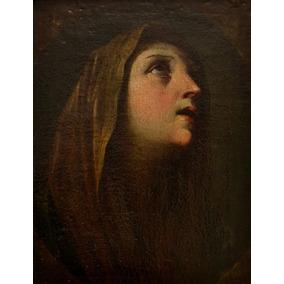 Pintura Cuadro Barroco Siglo Xvii . Marco De Época.madera T.