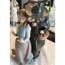 Lladro Figura Orig. Bruja C/niña Y Manzana Atn Coleccionis