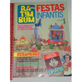 Ra Tim Bum Fastas Infantis Nº 4 Com Moldes Editora Três