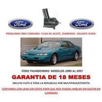 Bomba Licuadora Direccion Hidraulica Ford Thunderbird Au1
