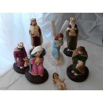 Nacimiento Misterio, Reyes, Ángel, Niño Dios 10cm
