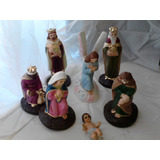Nacimiento Misterio, Reyes, Ángel, Niño Dios 15cm