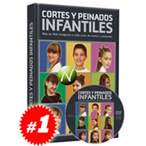 Cortes Y Peinados Infantiles + Dvd. Nuevo Y Original.