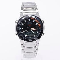 Reloj Casio Amw-710d Anadigi G De Mareas F Lunares