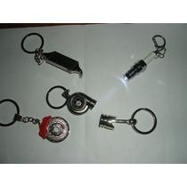 Llaveros Turbo,piston,caliper,bugia,intercooler Sonido Valvu