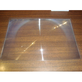 Lupa Plastica Flexible Fresnel Tamaño Carta 297x210mm