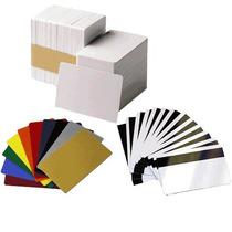 Tarjeta Plastica De Pvc Blancas Mod. Cr-80 De 30 Mils