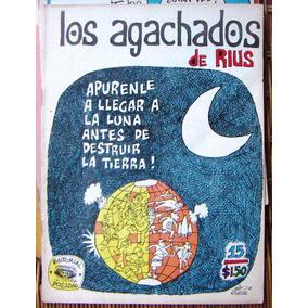 Historieta.los Agachados De Rius, Edit.posada. #203,1975