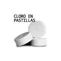 Cloro Pastillas Tabletas 1 Pulgad, Productos De Limpieza Mdn