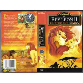 El Rey Leon 2 Vhs El Reino De Simba Hablada En Español Latin