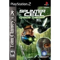 Tom Clancy´s Splinter Cell Chaos Theory Ps2 En Español