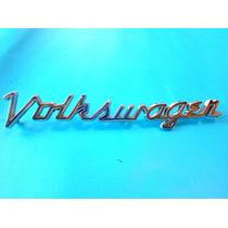 Emblema Volkswagen Sedan Vocho Clasico Scrip Para Cofre