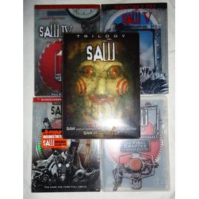 Saw Paquete De Las 7 Peliculas Importadas Dvd + Mascara
