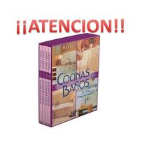 Cocinas Y Baños 4 Vols + 1 Cd Ed. Daly