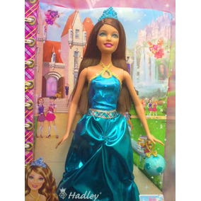 Barbie Escuela De Princesas Con Vestido De Baile Azul
