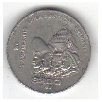 200 Pesos 1985 México 75 Aniversario Revolución Mexicana