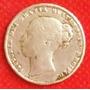 1 Chelin 1865 Plata Gran Bretaña Victoria Reino Unido - Hm4