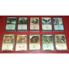 10 Mazos Magic Khans/ftr/dtk En Español 600 Cartas Mtg Bsas
