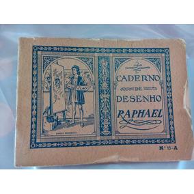 Livro Caderno De Desenho Antigo
