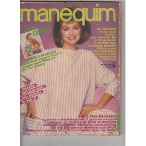 Revista Manequim Nº298 - Out 1984 - Capa Marina - Com Moldes