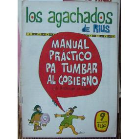 Ndd,historieta.los Agachados De Rius, Edit. Posada. # 9,1968