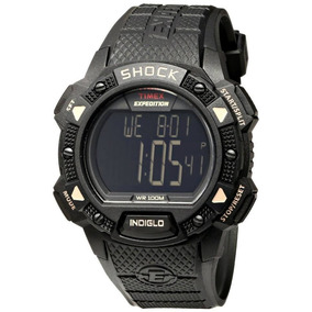 Reloj Timex Shock Expedition Negro Con Envío Entre La 2 Y 10