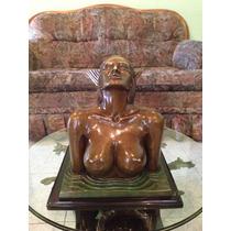 Lrc Sirena Hecha De Bronce, P/mesa De Centro, Arte Antiguo.