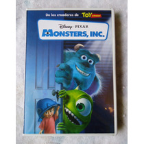 Monsters Inc Pelicula De Disney-pixar En Formato Dvd