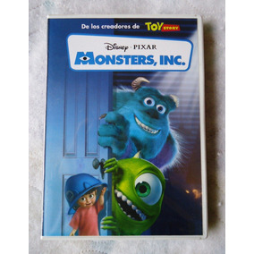 Monsters Inc Disney Pixar Pelicula En Dvd