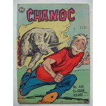 Chanoc Aventuras De Mar Y Selva # 449 Original Comic 1968