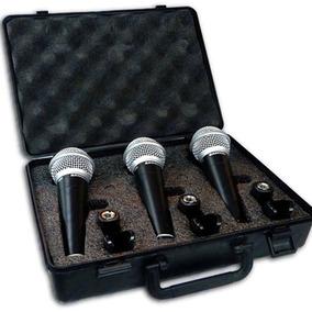 Micrófonos Samson R21 Pack X 3