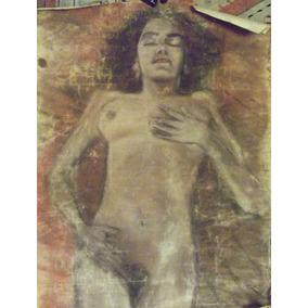 Antonio Albanes Garcia Pastel 1957 Mujer Soñando