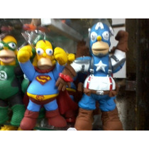 Homero Simpson Superheroe Parodia Dc. Marvel. Ndd Darkdagger