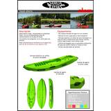 Kayak Samoa Toda La Linea Atom K1 Family Triplo Dragger Mdq