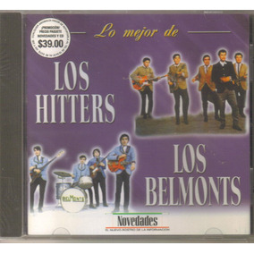 Los Hitter Los Belmonts - Lo Mejor ( Rock´n Roll Mexico) Cd
