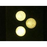 3 Monedas De Plata 20 Centavos Mexico 1941, 1942 Y 1943