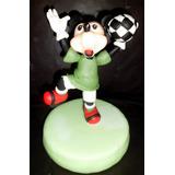 Adorno De Torta Mickey Mouse Y Minnie Mouse Porcelana Fria