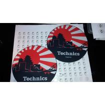 Slipmat Paño Para Bandeja Giradiscos Technics Tokyo