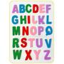 Letras Madera Multicolor Deco Manualidades Abecedario Compl