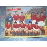 Estadio Nº 757 29 De Noviembre De 1957 Equipo Union Española