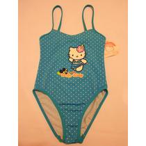 Traje De Baño Para Niña Hello Kitty 6 Años