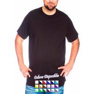 Pack Oferta X12 Remera Lisa Talles Especiales - 100% Algodón