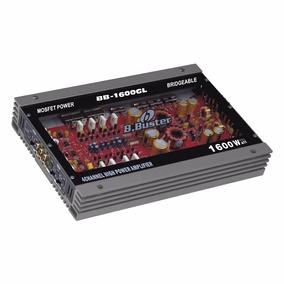 Modulo Amplificador B Buster Tampa Acrilico - 1600w 4 Canais