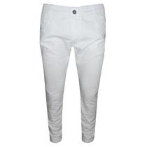 Calça Sarja Calvin Klein Branca Elastano Skinny
