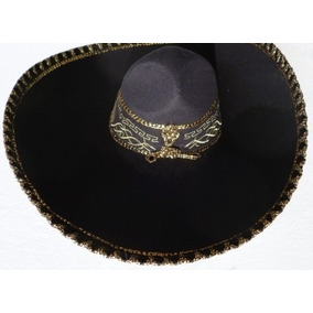 Sombrero Charro Cabeza Caballo Oro Mariachi Folklor Regional