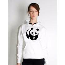 Moletom Blusa Canguru Panda Feminino Frete Gratis