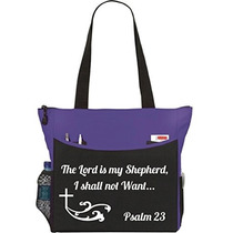Salmo 23 El Señor Es Mi Pastor Bolsa De Asas Cristiana De L